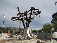 The shade tree sculpture