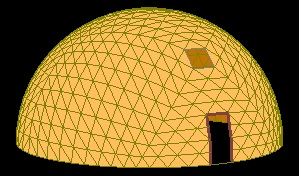 Octahedron dome